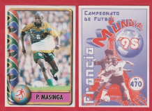 South Africa Phil Masinga Bari